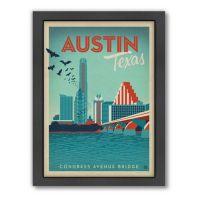 Art & Soul of America Austin, Texas Framed Wall Art by ...