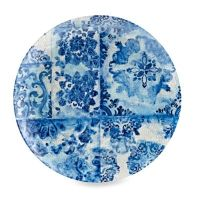Buy Blue Floral Melamine Dinner Plate from Bed Bath & Beyond