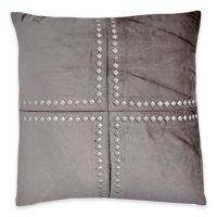 Callisto Home Studded Cleo Square Throw Pillow - Bed Bath ...