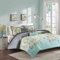 Intelligent Design Zana Comforter Set in Aqua - Bed Bath ...