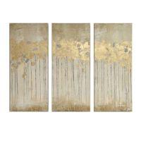 Madison Park Sandy Forest Gel Coat Canvas with Gold Foil ...
