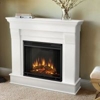 Buy Real Flame Chateau Electric Fireplace in White from ...