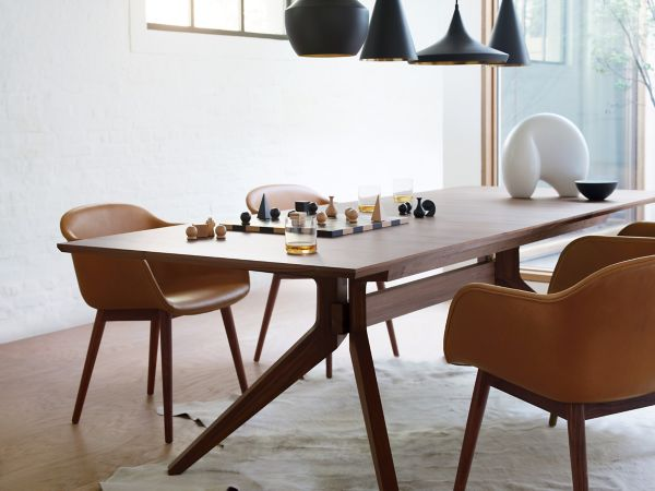 Extension Table Cross Extension Table Design Within Reach