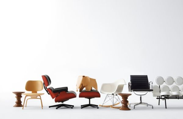 Vitra Chair Eames Vitra Miniatures Collection Eames Lounge And Ottoman
