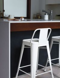 Tolix Marais Counter Stool with Low Back - Design Within ...