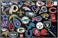 NFL Logo Collection Wall Decal | Shop Fathead for NFL Decor