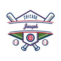 Chicago Cubs Personalized Name Wall Decal | Shop Fathead ...