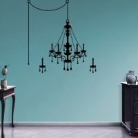 Chandelier Wall Decal   Shop Fathead for Wall Art Dcor