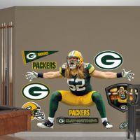 Life-Size Clay Matthews Sack Celebration Wall Decal | Shop ...