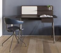 Simple Writing Desk with Single Divider | HBF Furniture