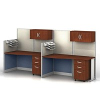 Two-Person Workstation Set - 75490 and more Office Desks
