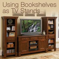 Using Bookshelves as TV Stands | OfficeFurniture.com