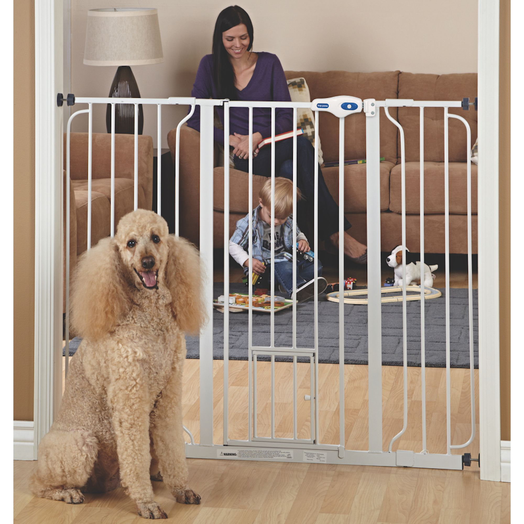 Top Paw Extra Tall Pet Gate