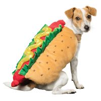 Thrills & Chills Halloween Hot Dog Costume | dog Costumes ...