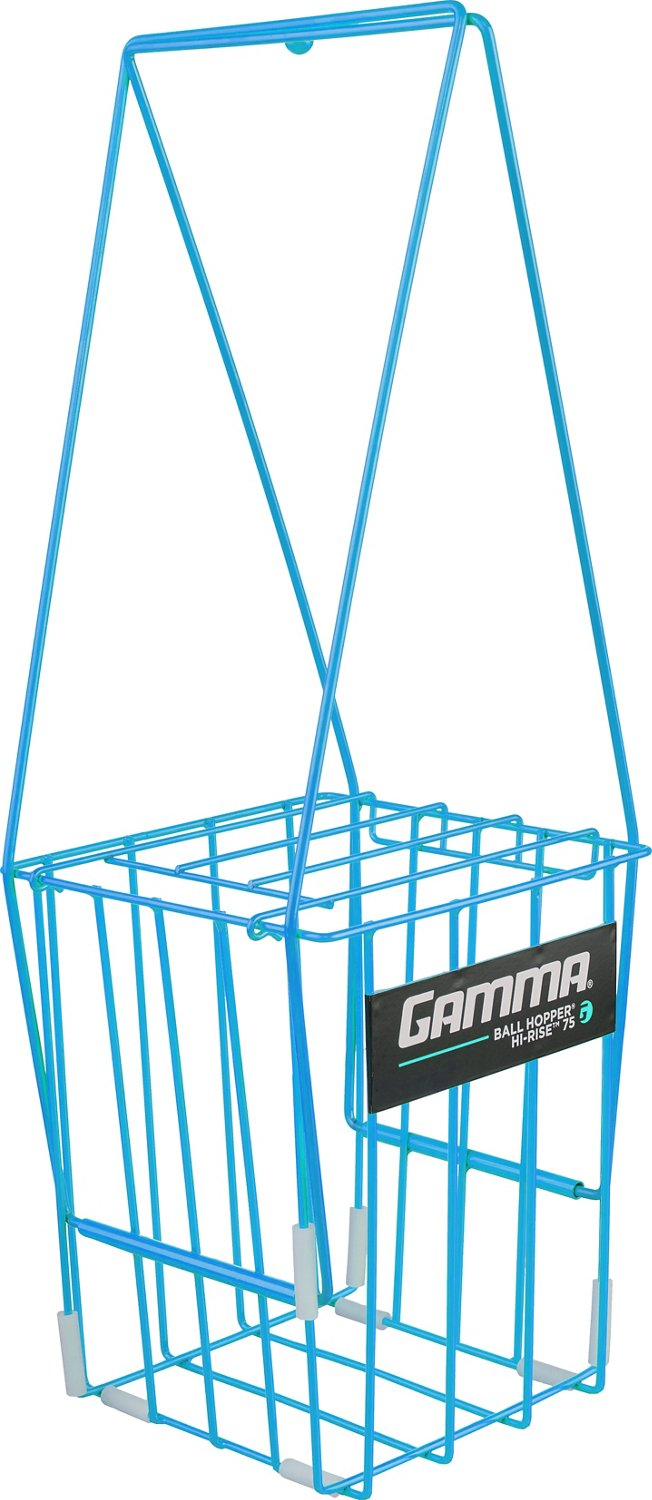 Bbq Gamma Gamma Ball Hopper Hi Rise 75 Ball Tennis Basket