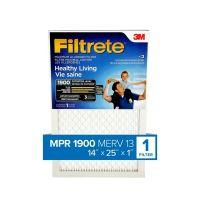 Filtrete 3M Filtrete 14x25 Ultimate Allergen Reduction ...