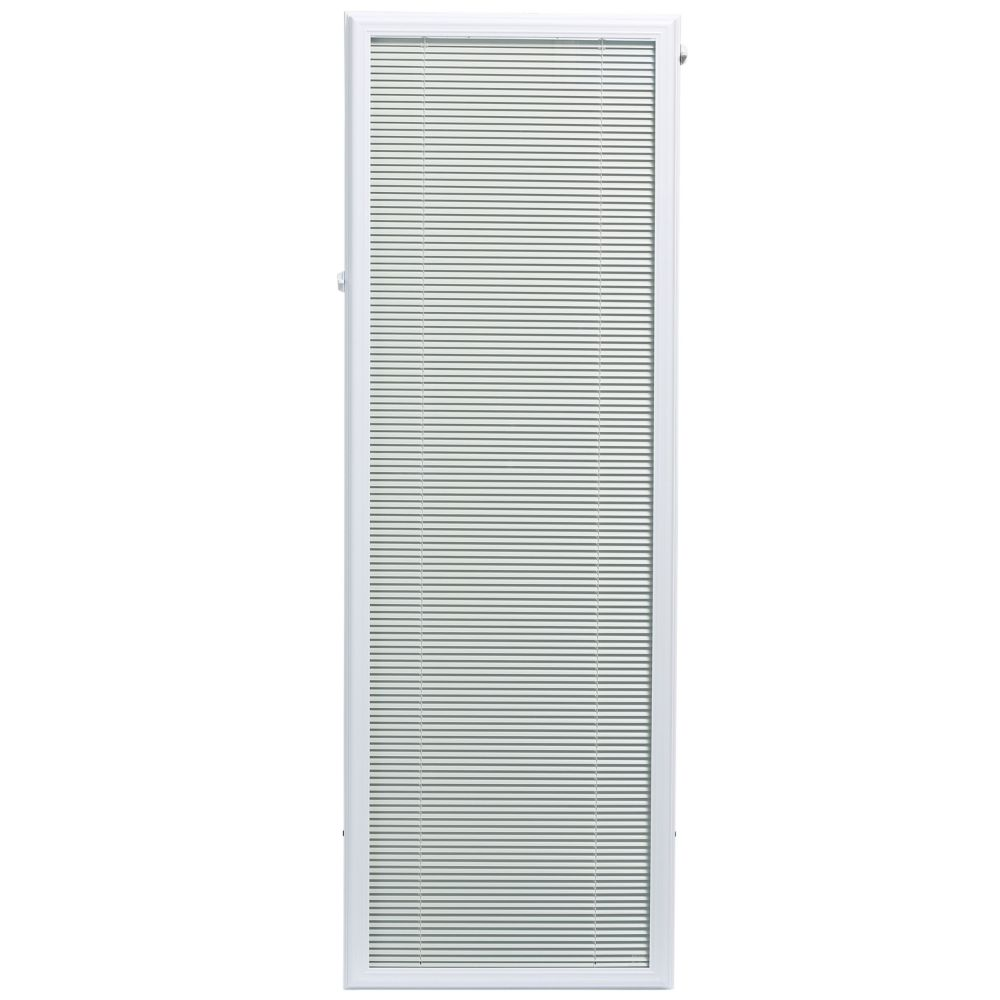 Window Inserts Canada 20 Inch X 64 Inch Aluminum Mini Blinds Energy Star