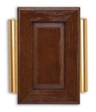 Heath Zenith Wired Door Chime With Brown Cherry Finish And ...