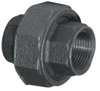 Aqua-Dynamic Fitting Black Iron Union 3/4 Inch | The Home ...