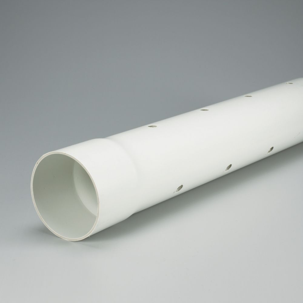 IPEX HomeRite Products PVC 4 inches x 10 ft PERFORATED