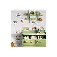 Roommates Transportation Peel & Stick Wall Decals | The ...