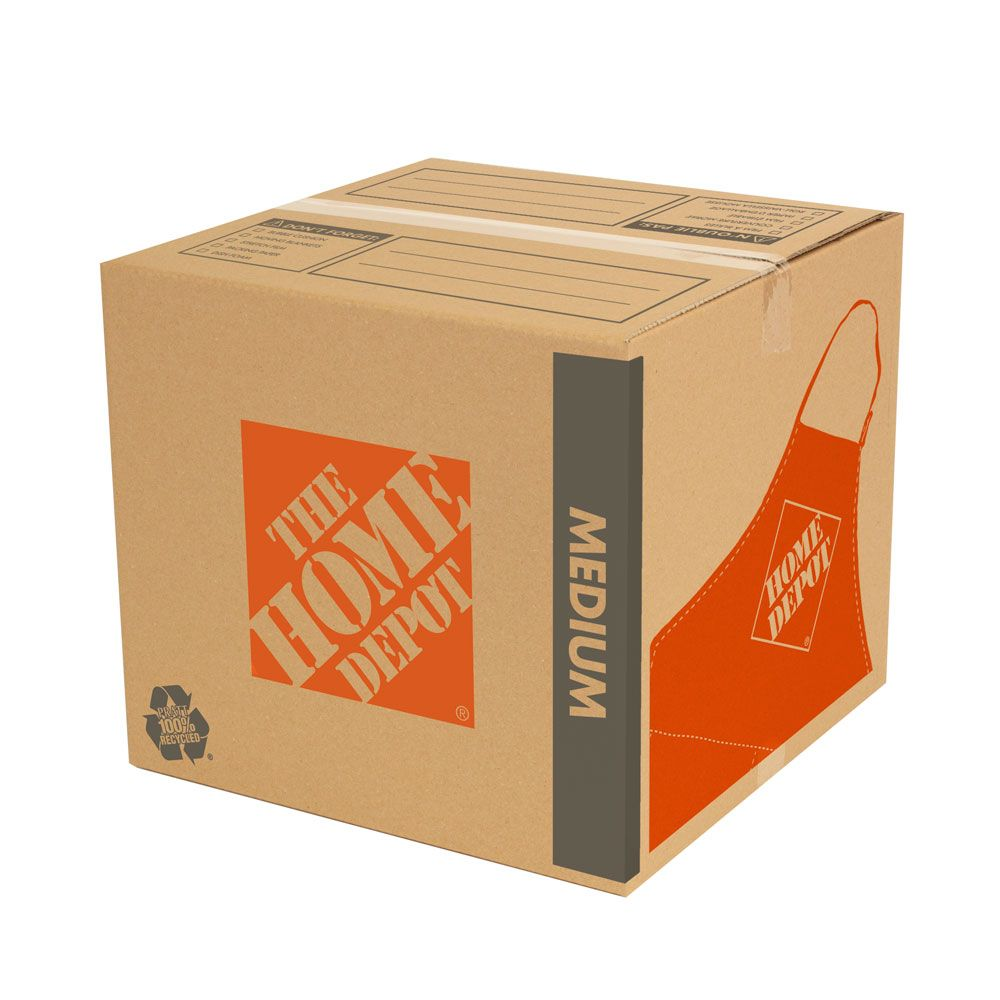 Rona Moving Boxes Thd 18 Inch L X 18 Inch W X 16 Inch D Medium Moving Box The Home