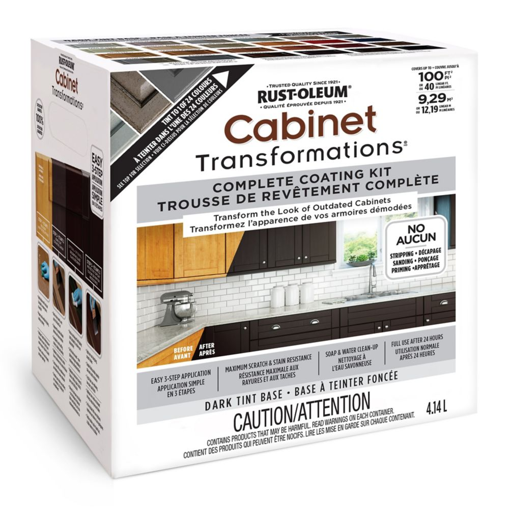 Rust Oleum Cabinet Transformations Dark Kit The Home Depot Canada