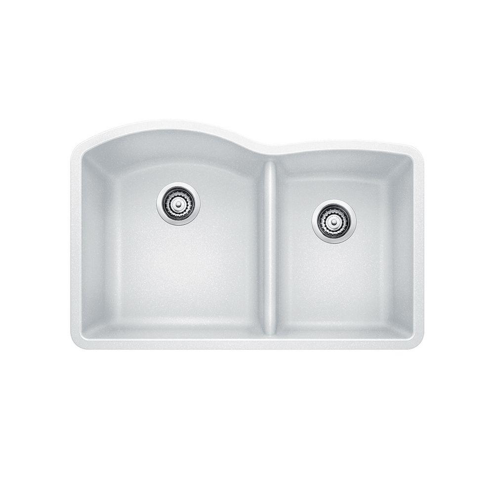 Silgranit Natural Granite 1 1 2 Bowl Undermount Sink