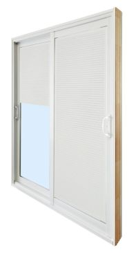 Double Sliding Patio Door - Internal Mini Blinds - 5 Ft ...