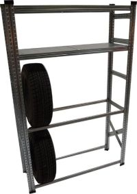 Metalsistem Heavy Duty Tire Rack And Shelving Kit | The ...