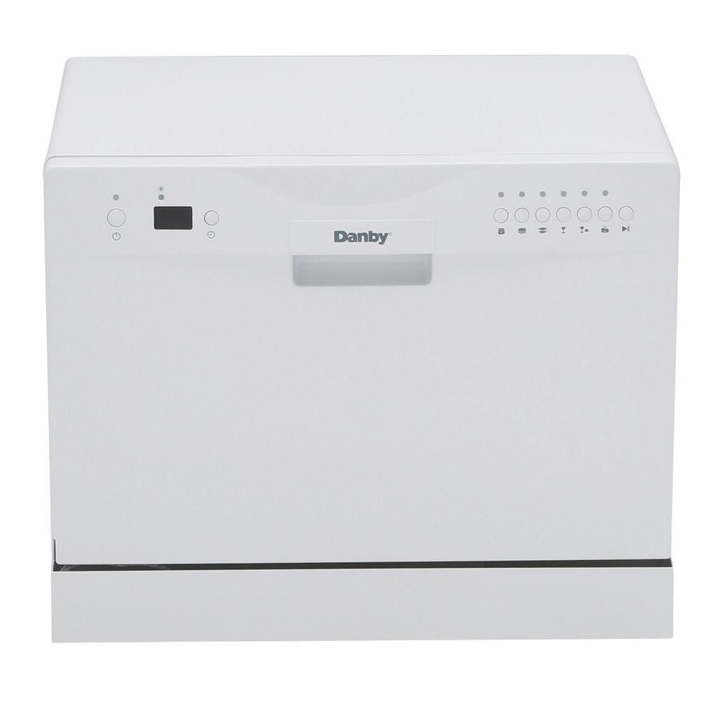 Danby 24 Inch Countertop Dishwasher In White The Home Depot Canada
