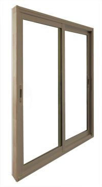 Stanley Doors Double Sliding Patio Door - 5 Ft. / 60 In. x ...