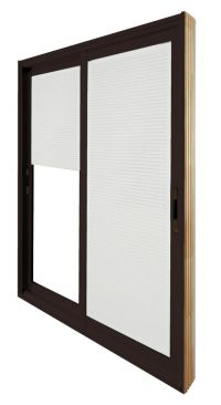 Stanley Doors Double Sliding Patio Door - Internal Mini ...
