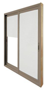 Stanley Doors 60-inch x 80-inch Sandstone Double Sliding ...