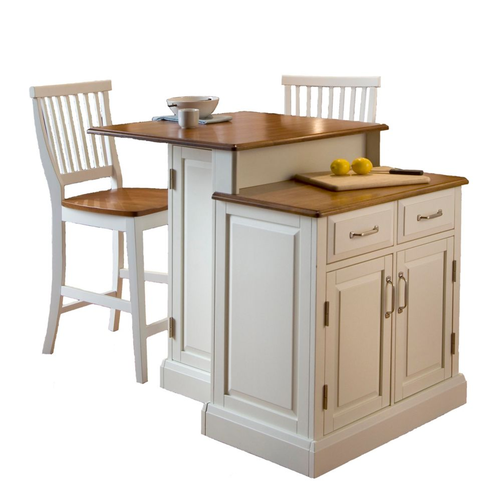 Island Stools Canada Two Tier Kitchen Island With Matching Stools