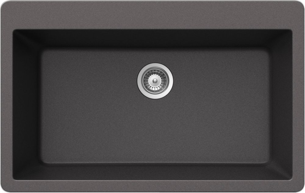 Fantastisch 32 Inch Undermount Single Bowl Stainless Steel Kitchen Sink With Stainless  Steel Finish Kitchen