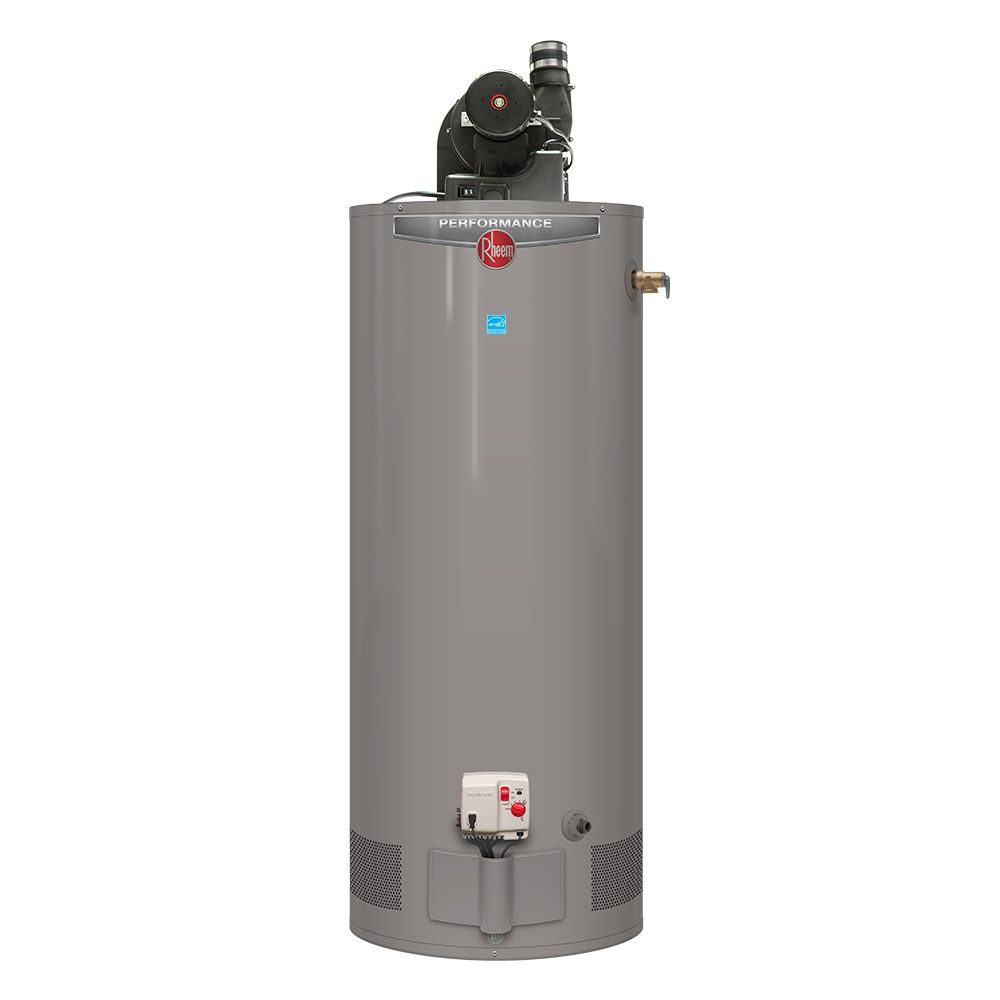 Chauffe Eau Rheem Power Vent Natural Gas Water Heater 50 Gal