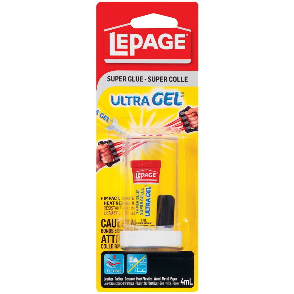 Glues Epoxy The Home Depot Canada - Lepage Ultra Gel
