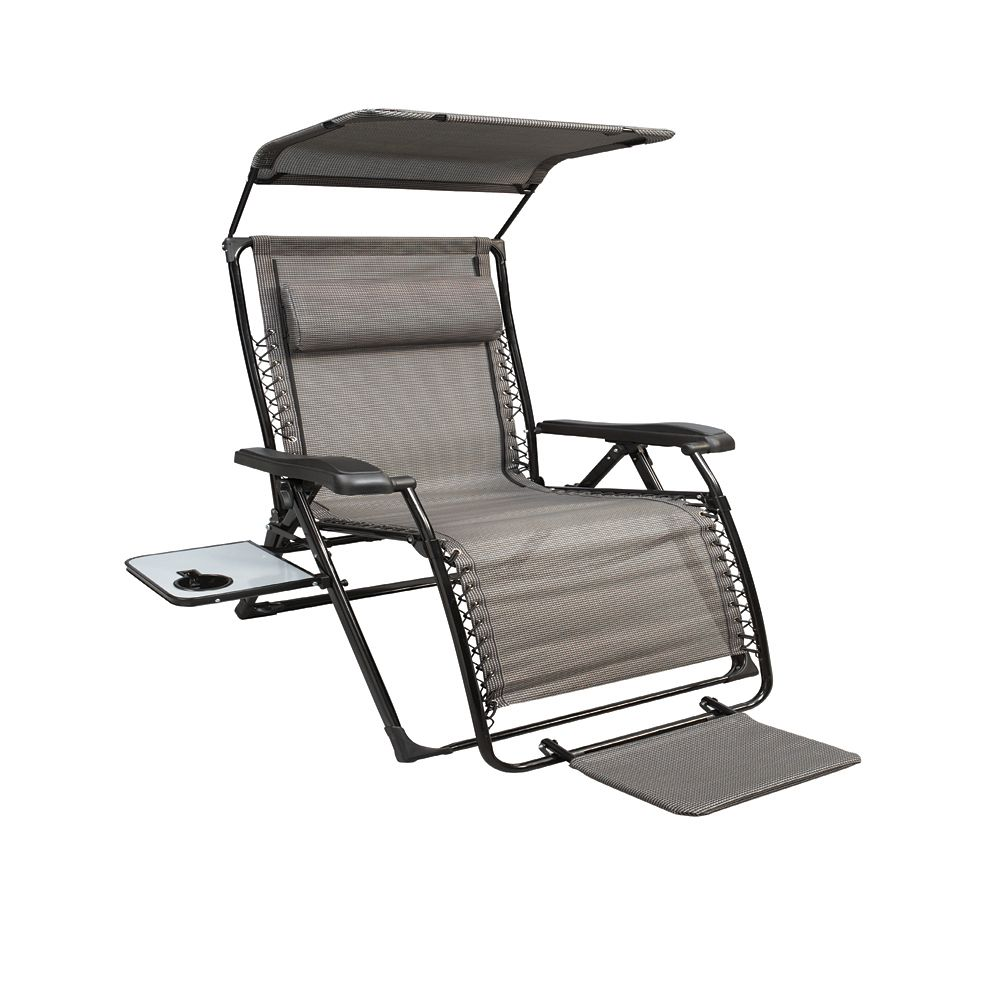 Unbranded XL Zero Gravity Chair With Canopy With Footrest