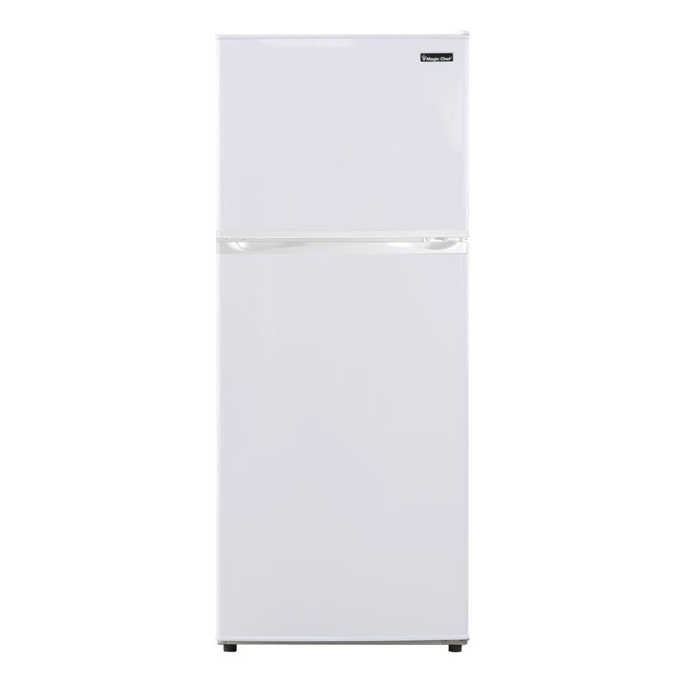 Home Depot Fridges Canada 9 9 Cu Ft Top Freezer Refrigerator In White Energy Star