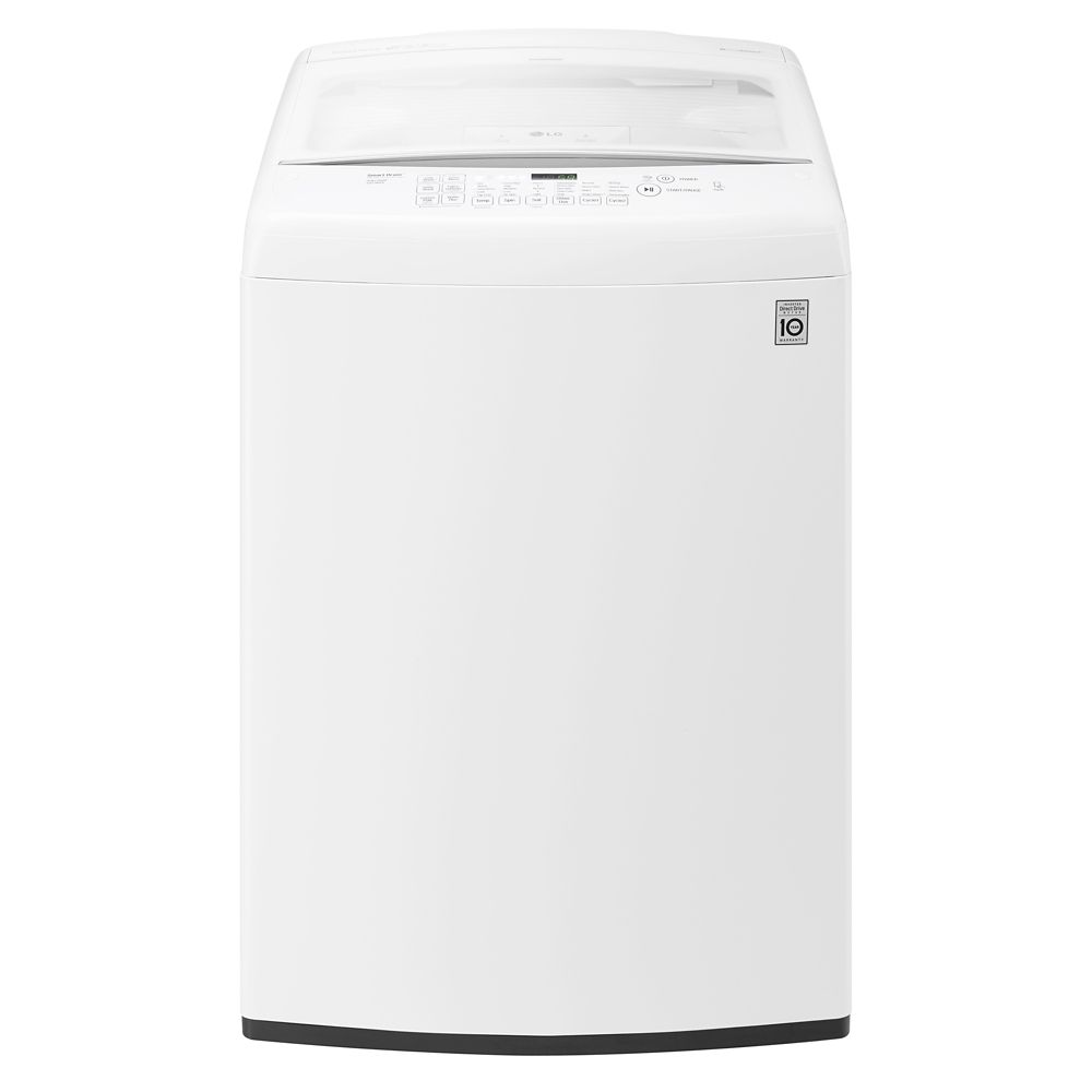 Washer And Dryer Calgary 5 Cu Ft High Efficiency Top Load Washer With A Low Profile Impeller In White