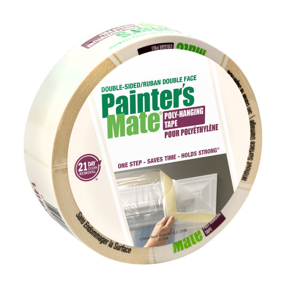 3m Vhb Tape Canada Painter S Mate Green Double Sided Poly Hanging Tape White 1 41