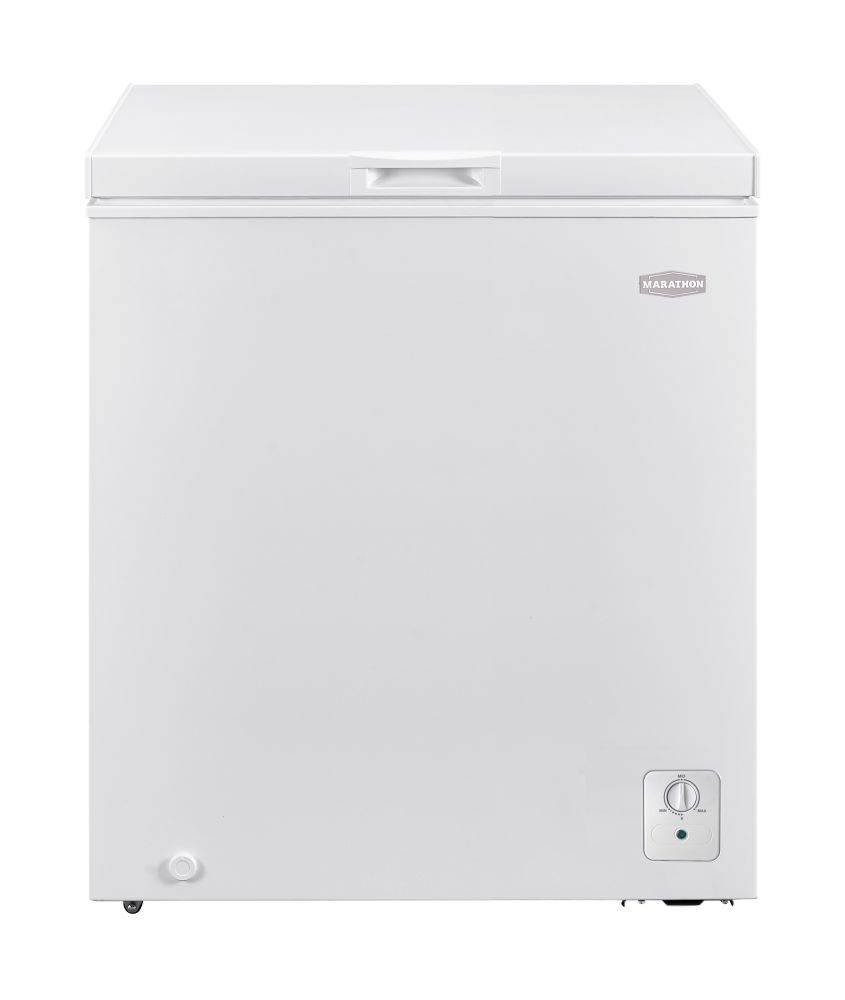 Small Freezer Canada 5 Cu Ft Chest Freezer In White Energy Star