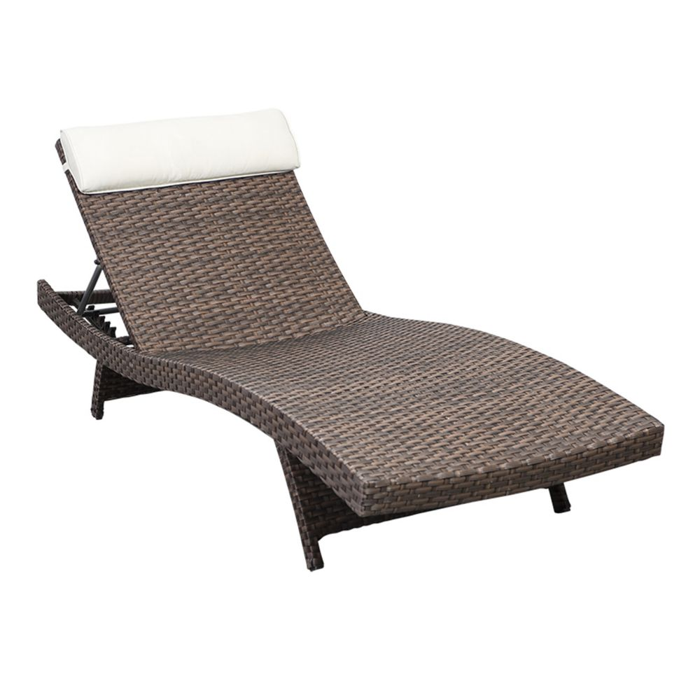 Amazonia Florida Deluxe Brown All Weather Wicker Patio - Patio Loungers Canada