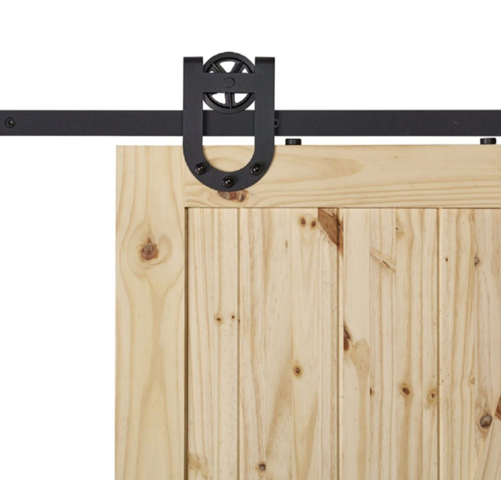 Barn Door Hardware The Home Depot Canada - Barn Door Track Canada