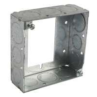 Bowers 4-SW-EA-SPL 4-Inch Steel Square Box Extension Ring ...