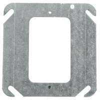 """Electrical Boxes Steel Device 4"""" Square Covers Mud/Tile ..."""