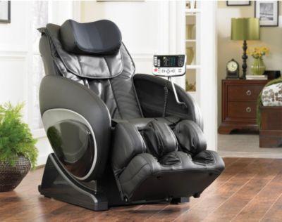 Cozzia Shiatsu Massage Chair 16027 In Black