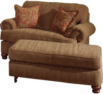 Jackson Belmont Chair And A Half With Optional Ottoman