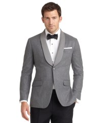 Milano Fit One-Button Shawl Collar Dinner Jacket - Brooks ...